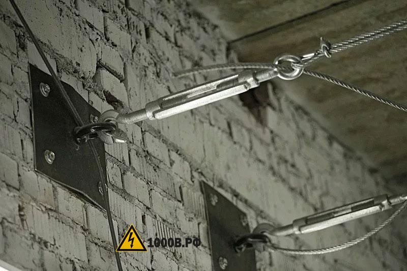 Монтаж проводки, способы прокладки проводов.