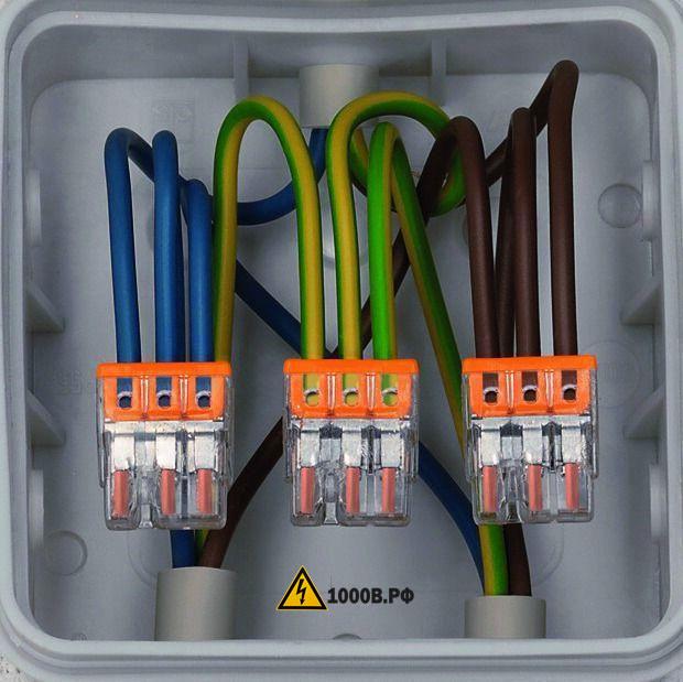 Монтаж проводки, способы прокладки проводов. 1