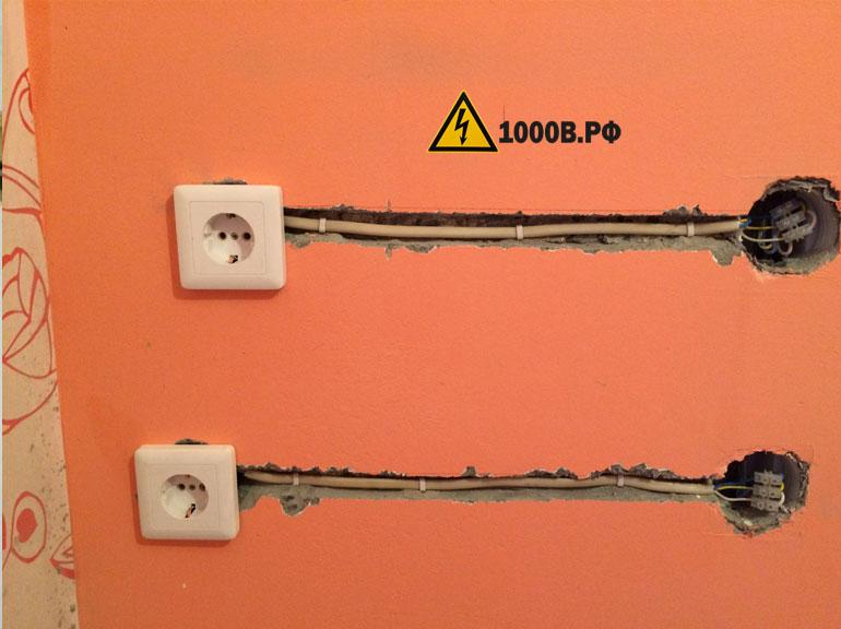 Монтаж проводки, способы прокладки проводов. 3