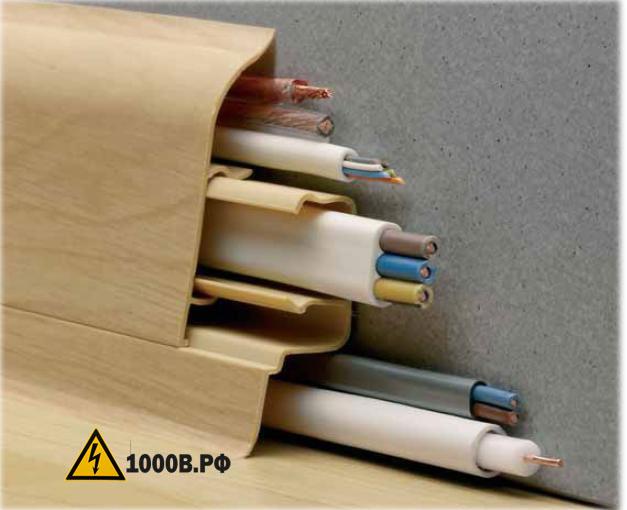 Монтаж проводки, способы прокладки проводов. 4