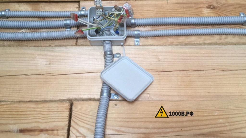 Монтаж проводки, способы прокладки проводов. 6